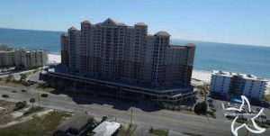 North side of the Lighthouse condo in Gulf Shores